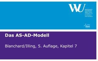 Das AS-AD-Modell