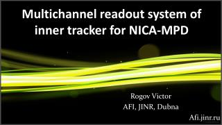 Multichannel readout system of inner tracker for NICA-MPD