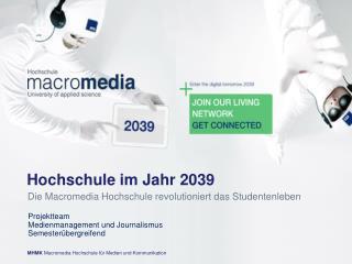 Hochschule im Jahr 2039