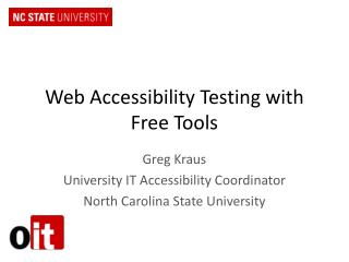 Web Accessibility Testing with Free Tools