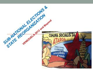 sub-national ELECTIONS &  STATE  REORGANIZATION