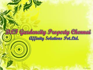 Dlf garden city chennai || 09999620966 || Chennai DLF New Pr