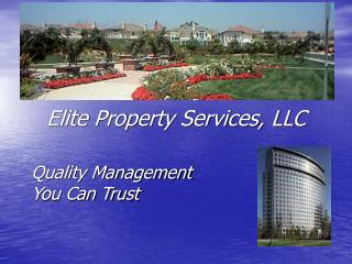 Quality Management You Can Trust
