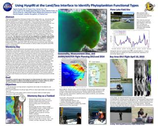 Using  HyspIRI  at the Land/Sea Interface to Identify Phytoplankton Functional Types