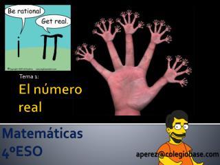 El número real