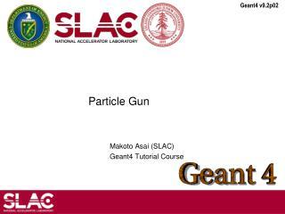 Particle Gun