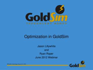 Optimization in GoldSim
