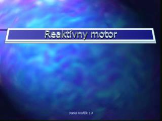 Reaktívny motor