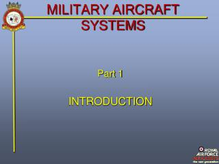 MILITARY AIRCRAFT SYSTEMS