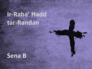 Ir-Raba' Ħadd tar-Randan Sena B