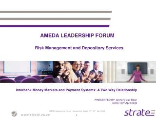 AMEDA LEADERSHIP FORUM