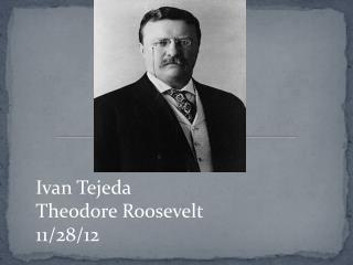 Ivan Tejeda Theodore Roosevelt  11/28/12