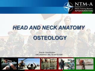 HEAD AND NECK ANATOMY OSTEOLOGY