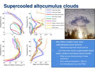 Supercooled  altocumulus clouds