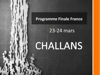 Programme Finale France