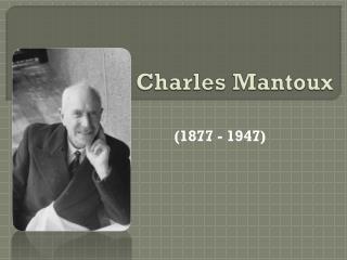 Charles Mantoux