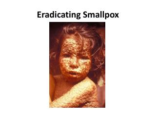 Eradicating Smallpox