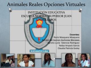 Animales Reales Opciones Virtuales