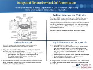 Integrated Electrochemical Soil Remediation