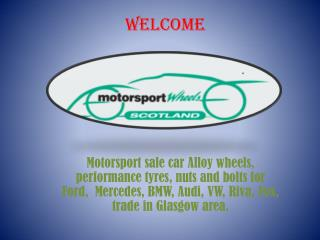 Motorsport wheels Glasgow
