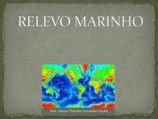 RELEVO MARINHO