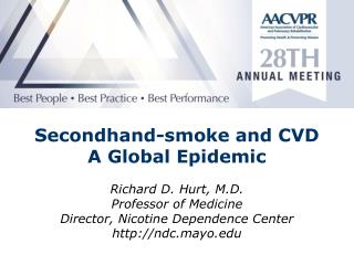 Secondhand-smoke  and CVD  A Global Epidemic