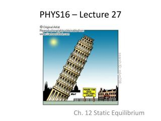 PHYS16 – Lecture 27