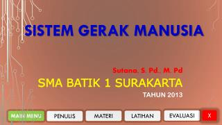SISTEM GERAK MANUSIA