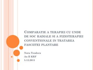 Nutu Teodora An II KRF 5.12.2013