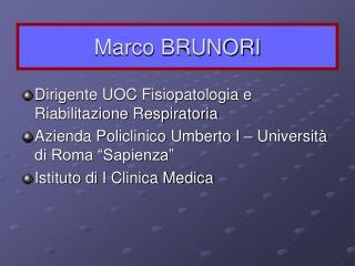 Marco BRUNORI