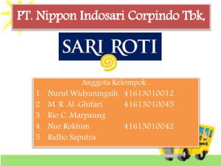 PT.  Nippon Indosari Corpindo  Tbk ,
