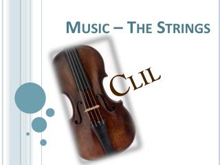 Music � The Strings
