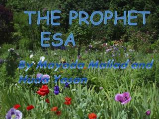 The prophet Esa