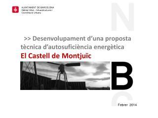AJUNTAMENT DE BARCELONA Hàbitat Urbà – Infraestructures i Coordinació Urbana
