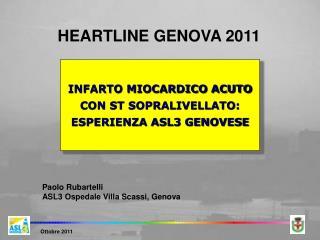 INFARTO MIOCARDICO ACUTO CON ST SOPRALIVELLATO: ESPERIENZA ASL3 GENOVESE