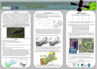 Mapping lake water quality & ALS risk factors across northern New England