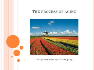 The  process  of  aging