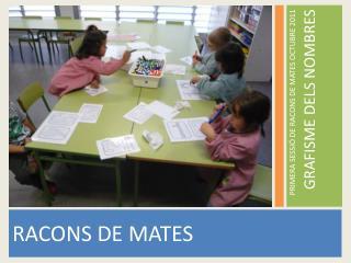 RACONS DE MATES