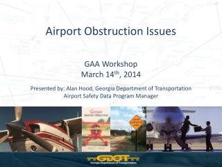 Airport Obstruction Issues