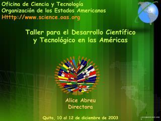Oficina de Ciencia y Tecnolog a Organizaci n de los Estados Americanos Htttp: