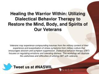 Tweet us at #NASWIL