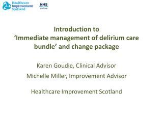 Delirium Patient Story