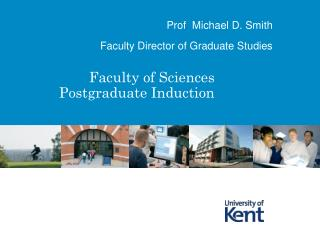 Faculty of Sciences Postgraduate Induction