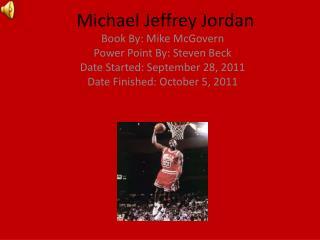 Michael Jeffrey Jordan