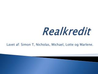 Realkredit