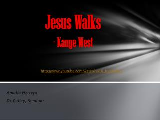 Jesus Walks - Kanye West