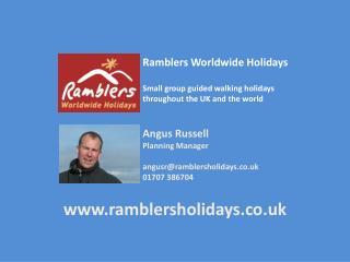 Angus Russell RWH ONWF Presentation