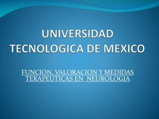 UNIVERSIDAD TECNOLOGICA DE MEXICO