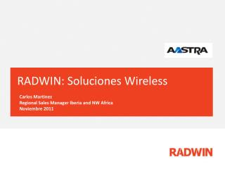 RADWIN: Soluciones Wireless