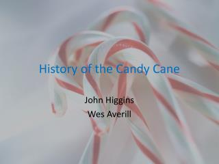History of the Candy Cane